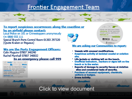 Frontier Engagement Team